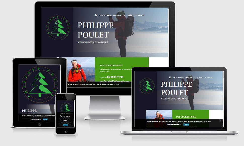 Philippe Poulet accompagnateur en montagne dans les Vosges