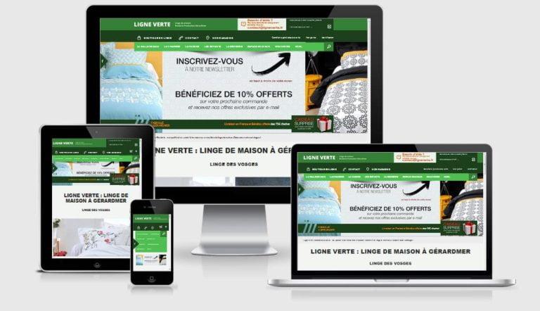 Linge des Vosges : Ligne Verte producteur brodeur