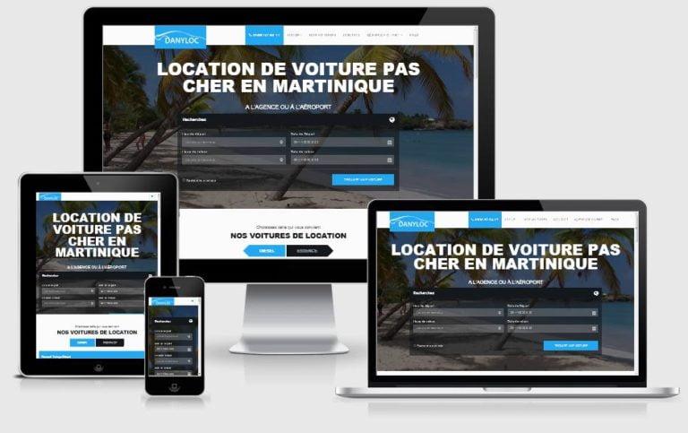 Location de voiture en Martinique DanyLoc 972